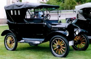 1921 Model T Ford Touring