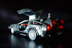 Delorean 1/5th Scale Model