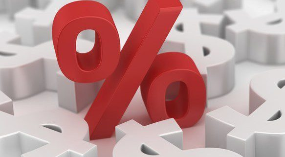 interest rate percentage