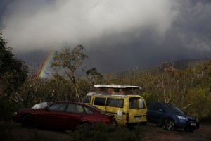 car-parked-with-rainbow