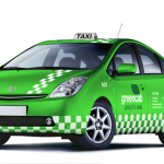 Environmentally friendly taxis are great, but you don't have to go this green.