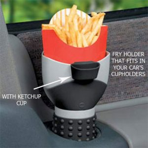 Car Fries Holder
